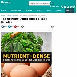 Nutrient-Dense Foods to Eat + Nutrient-Dense Foods Benefits