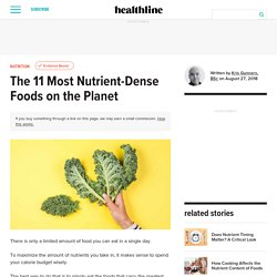 The 11 Most Nutrient Dense Foods on The Planet