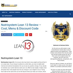 Nutrisystem Lean 13 Review 2017 - 40% DISCOUNT CODE!