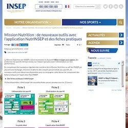INSEP 02/03/15 Mission Nutrition : de nouveaux outils avec l'application NutrINSEP et des fiches pratiques