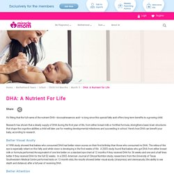 Know Long-Term Benefits of DHA in Nutrition to a Growing Child With Miracle Mom