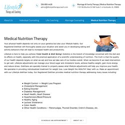 Medical Nutrition Counseling Services - Nutrition Therapy