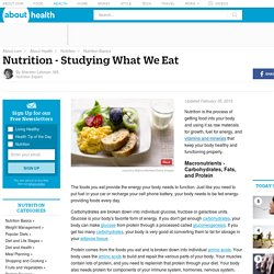 Nutrition Description - Studying What We Eat
