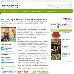 Top 10 Budget-Friendly Foods - Diet and Nutrition Center