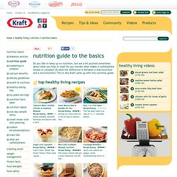 Nutrition Guides From Kraft Foods