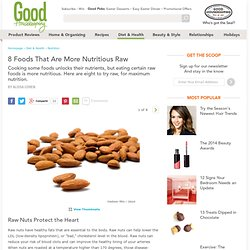Raw Food Nutrition - Raw Foods with More Nutrients
