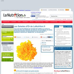 La nutrition en folie - Les Salades d'Or de LaNutrition.fr