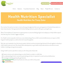Why Hire a Health Nutrition Specialist?