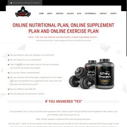 Online Supplement Plan