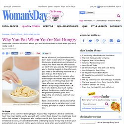 Diet and Nutrition - Weight Loss Tips at WomansDay