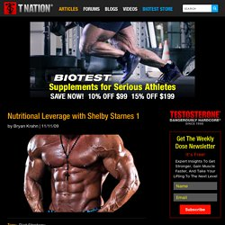 Nutritional Leverage with Shelby Starnes 1