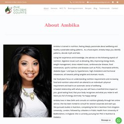 Online Nutritionist And Dietitian Ambika Bharita