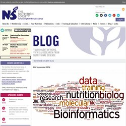 How can nutritionists use and learn from 'big data'?