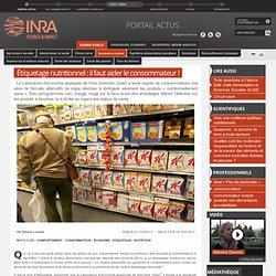 INRA - JUIN 2013 - Étiquetage nutritionnel : il faut aider le consommateur !