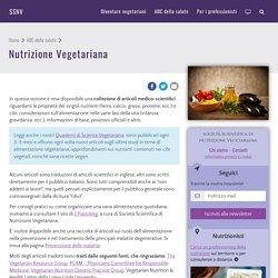 Nutrizione Vegetariana - SSNV