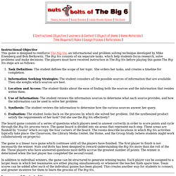 Nuts and Bolts of The Big Six 1998