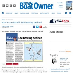 Nav in a nutshell: Lee bowing defined - Practical Boat Owner