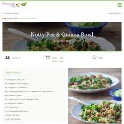 Nutty Pea & Quinoa Bowl