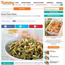 Nutty Pesto Pasta