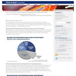 Nutzermeinungen im Internet beeinflussen Kaufverhalten erheblich