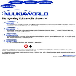 NUUKIAWORLD - The legendary Nokia mobile phone site