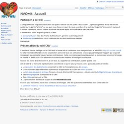 NVCwiki:Accueil