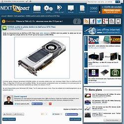 NVIDIA publie le pilote dédié à la GeForce GTX Titan