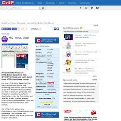 Nvu - HTML-Editor