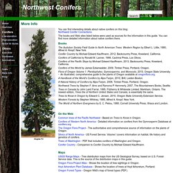 NW Conifers Info
