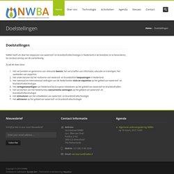 NWBA – Doelstellingen