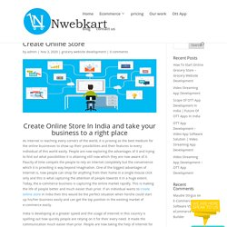 Nwebkart-Create your Online store - Build Your Online Store