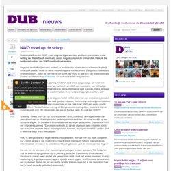 DUB: NWO moet op de schop