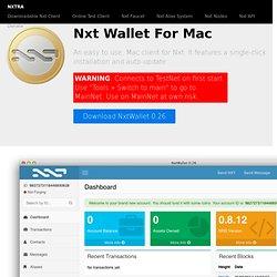 NXT Mac Client