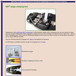 NXT® plugs crimping tool