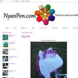 Crochet Pony Hat Pattern