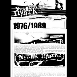 NYARk nyarK - Punk et Rock alternatif Français 76/89