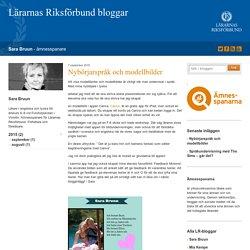 Nybörjarspråk och modellbilder - Sara Bruun