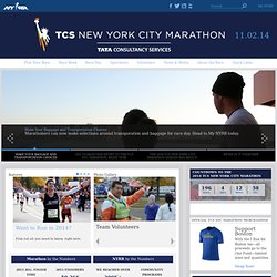 The ING New York City Marathon
