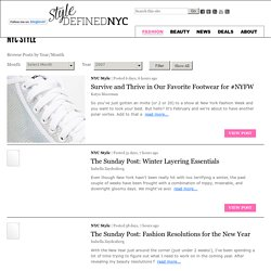 Style Defined - NYC fashion blog