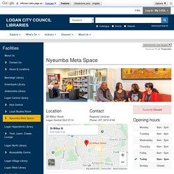 Nyeumba Meta Space - Logan City Council Libraries