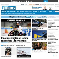 News - Courier - Norrbotten Courier