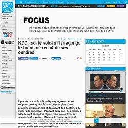 RDC : sur le volcan Nyiragongo, le tourisme renaît de ses cendres