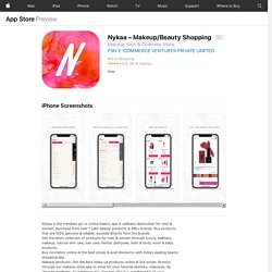 Nykaa – Makeup/Beauty Shopping on the AppStore