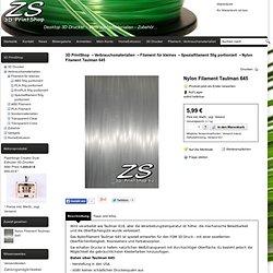 Nylon Filament Taulman 645 -auf 450g Spule oder 50g Bund!