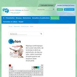 Nylon - Société Chimique de France