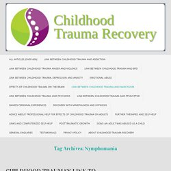 Child Abuse, Trauma and Recovery