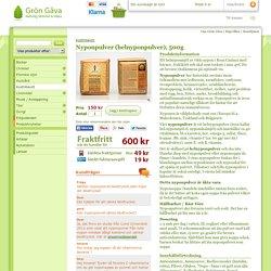 Nyponpulver (helnyponpulver), 500g - Grön Gåva