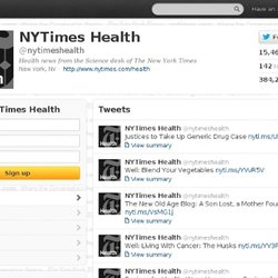 NYTimes Health (nytimeshealth) on Twitter