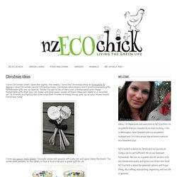 NZ Ecochick: Christmas ideas