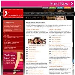 NZ Fashion Tech Videos